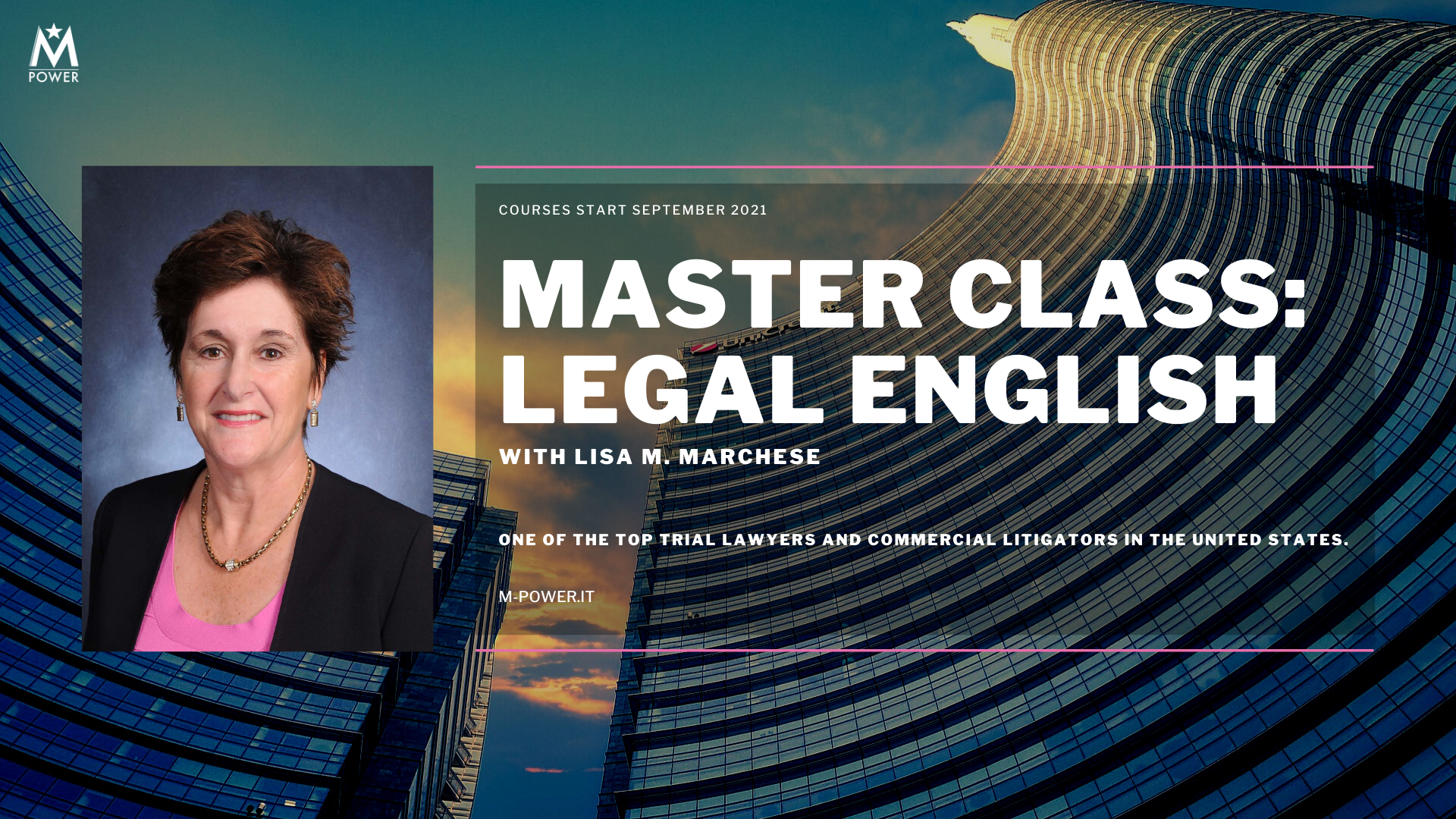 M:POWER launches Master Class: Legal English